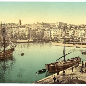 Past & Present: Photographs of Marseille, France 16