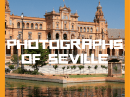 Photographs of Seville