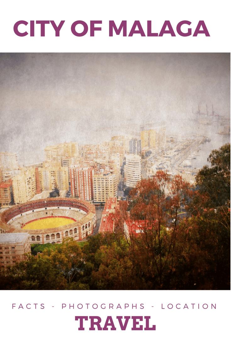 City of Malaga Spain