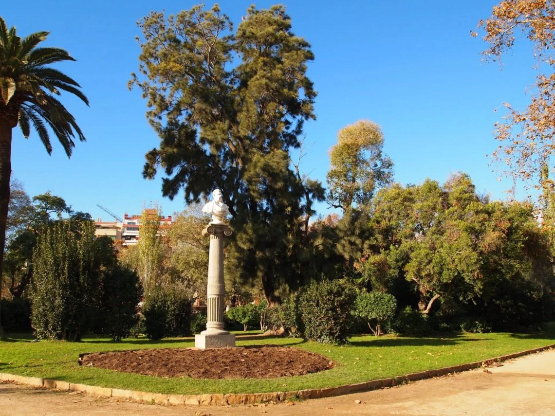 Catarata del Parc de la Ciutadella