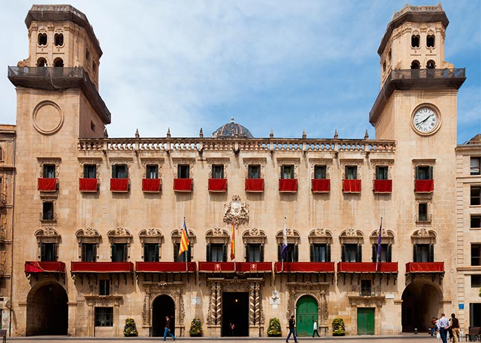 The Town Hall of Alicante City