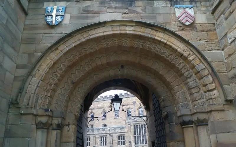 Durham Castle Norman Arch Gatehouse