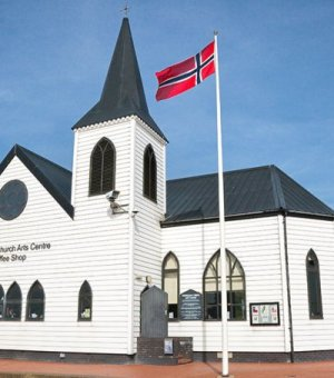 Norwegian ChurchCardiff BayCardiffSouthTowns And Villages