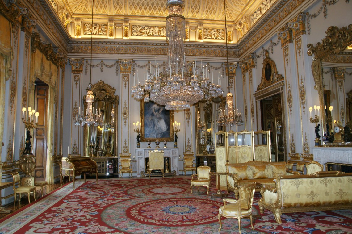 Buckingham Palace The White Drawing Room