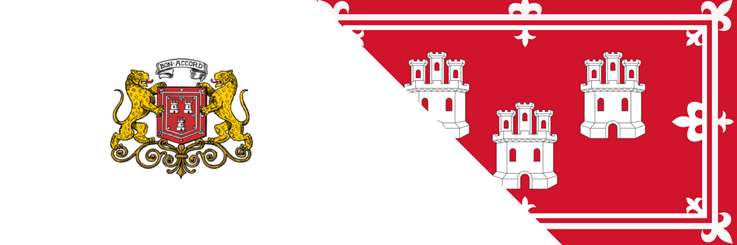 Aberdeen Coat of arms and flag