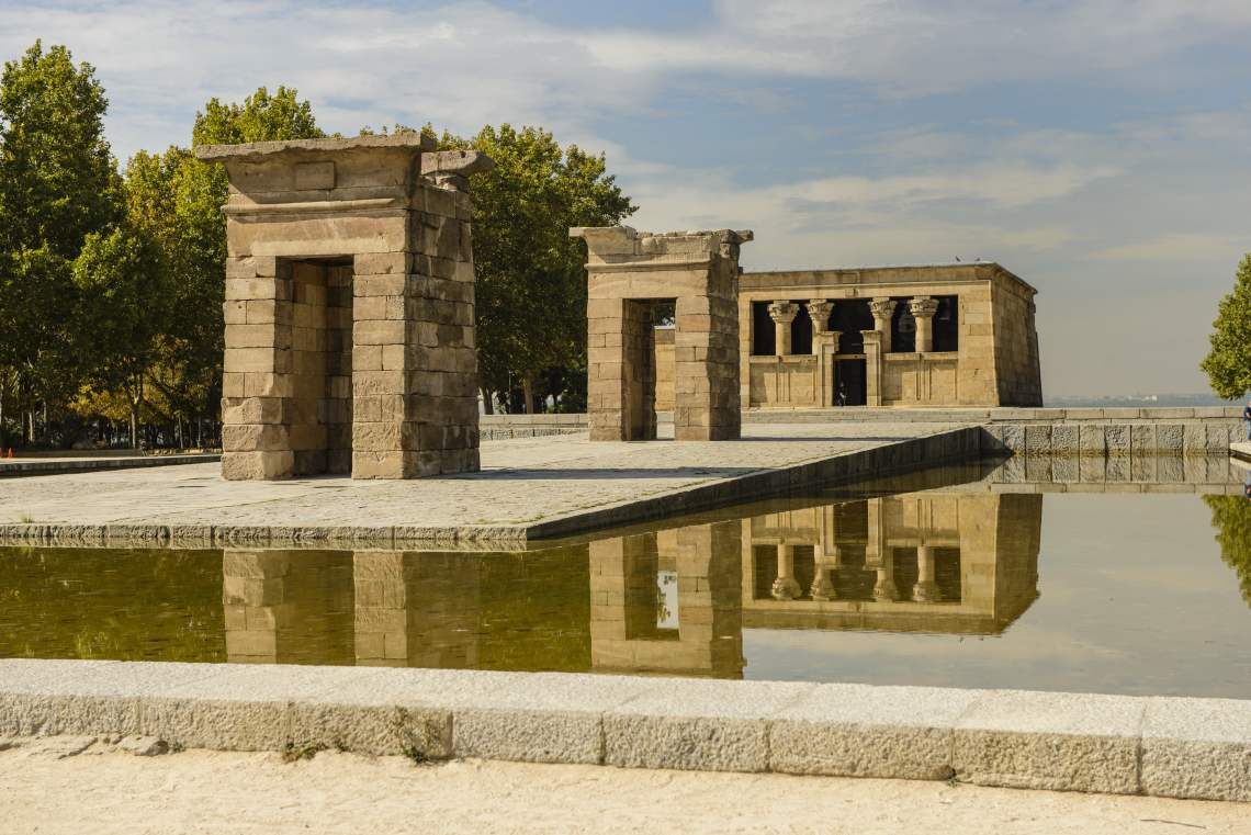 The Debod temple