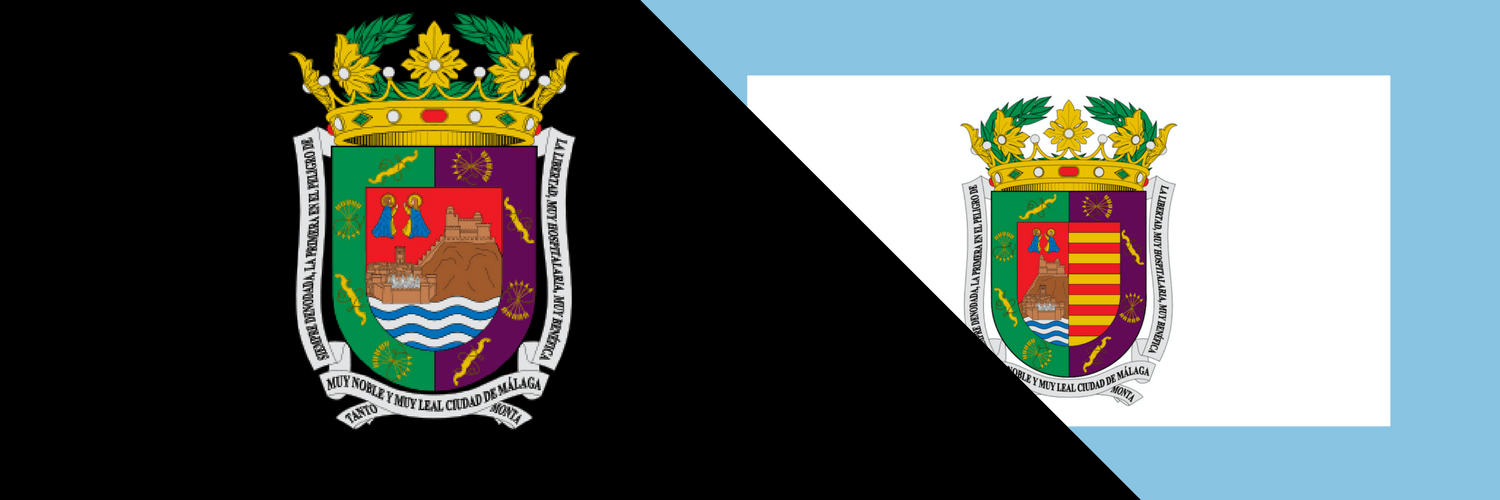 province of Malaga coat of arms and flag