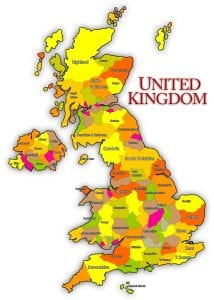 United Kingdom and Northern Ireland Maps