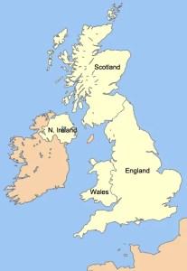 United Kingdom and Northern Ireland Maps