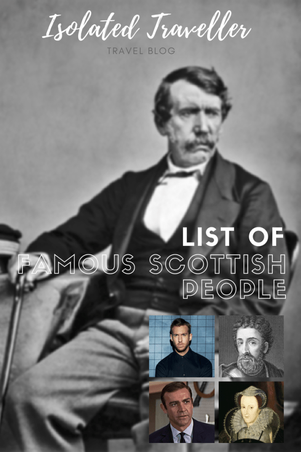 Famous Scottish People