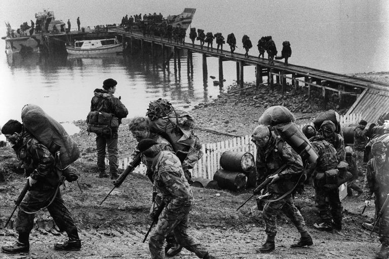 United Kingdom Timeline falkland Island War