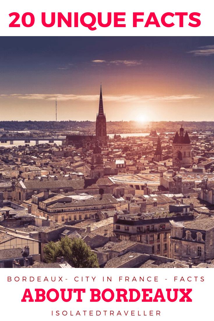 20 Unique Facts About Bordeaux 2