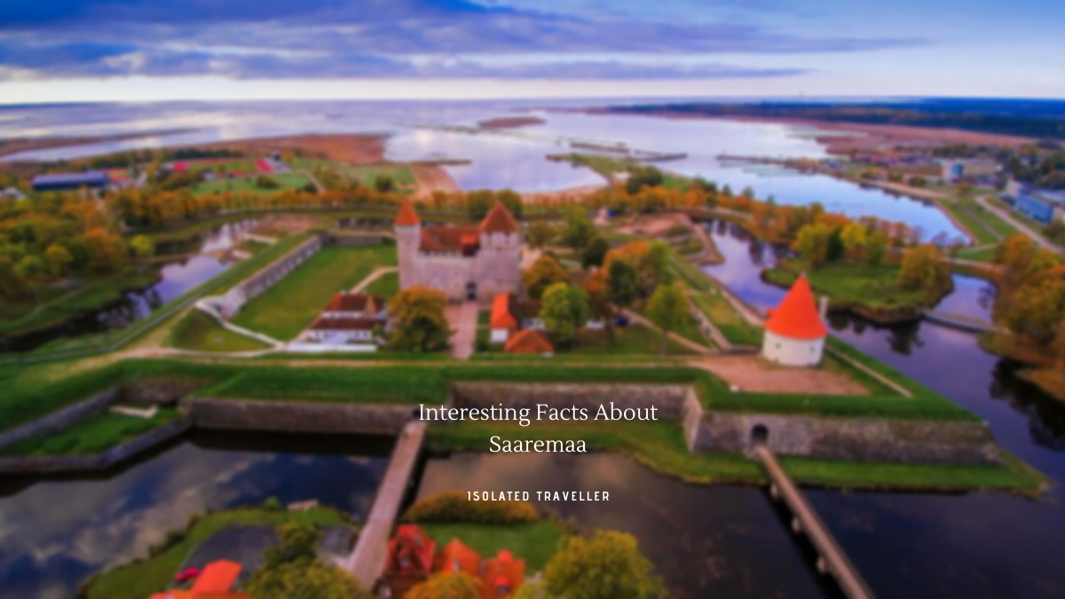 Facts About Saaremaa