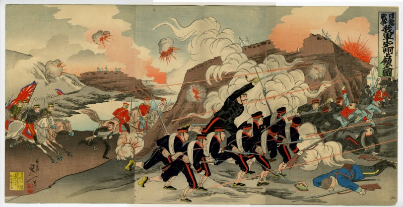 Japanese Painting - Russo-Japanese War Facts