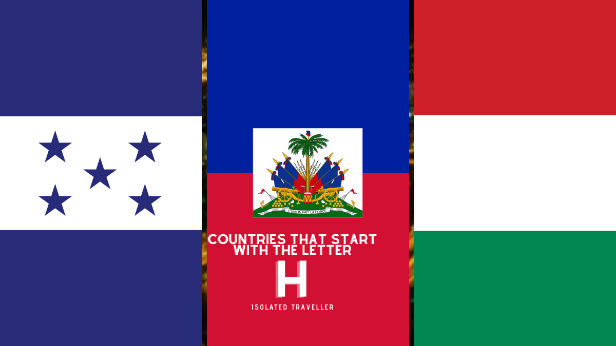 Countries That Start With The Letter H