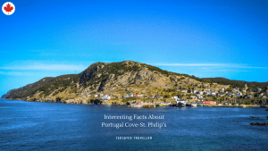 Facts About Portugal Cove-St. Philip's