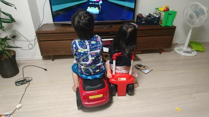 Amazon Fire TV Stickを買って、カーパトロールというアニメに子供がはまっている。教える、伝える練習にもなる。