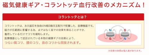 コラントッテピロー MAG-RAマグーラ血行改善メカニズム