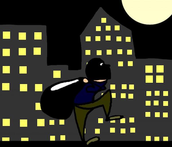 窃盗件数は年々上がっている防犯対策