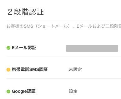 Google認証が完了します。