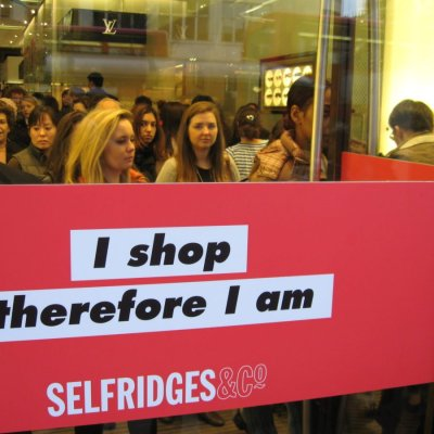 I shop, therefore I am?