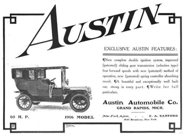 Austin advert