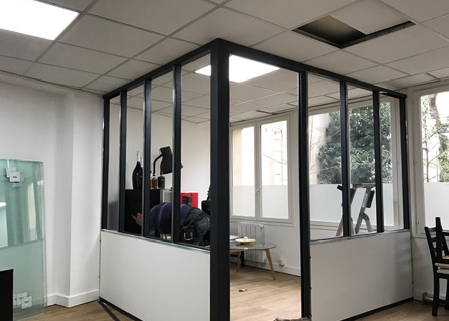 Cration Dune Salle De Runion Type Atelier Paris 17