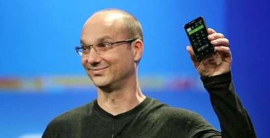 Andy Rubin Google's senior vice president of mobile and digital content begins selling a wallet phone directly to U.S. consumers