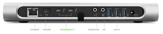 Belkin Thunderbolt Express Docking Station1