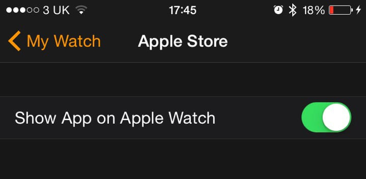 show-on-apple-watch