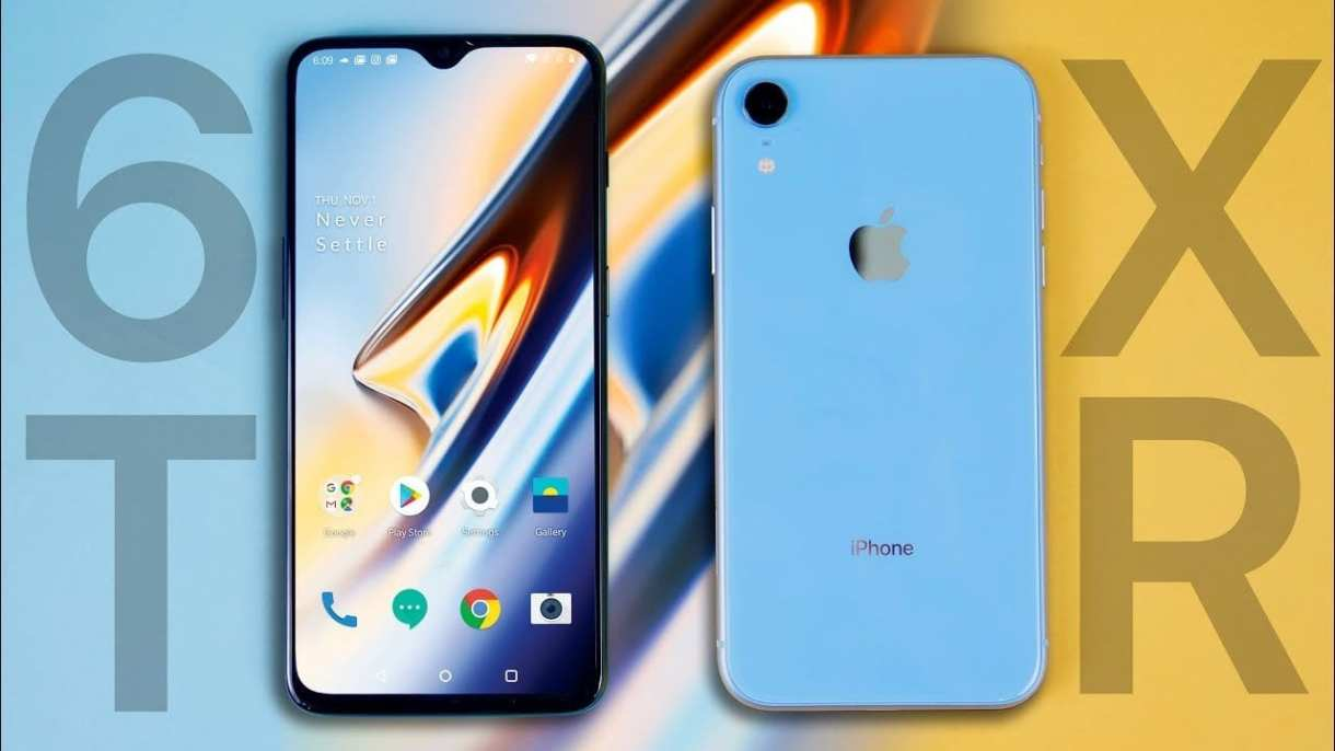 iphone xr note 9 oneplus 6t