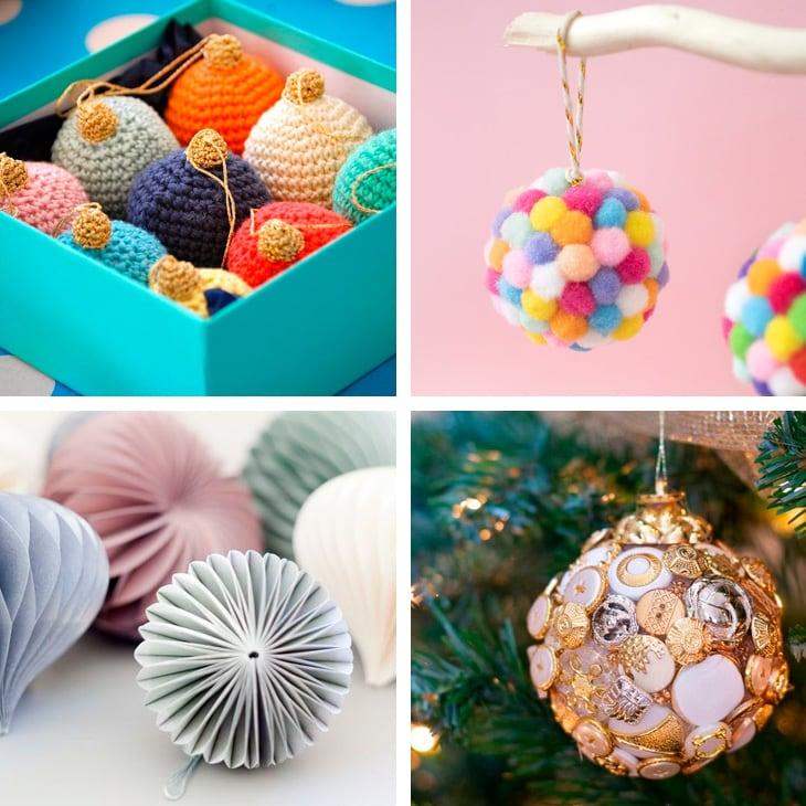 Palline Di Natale Fai Da Te 30 Decorazioni Natalizie