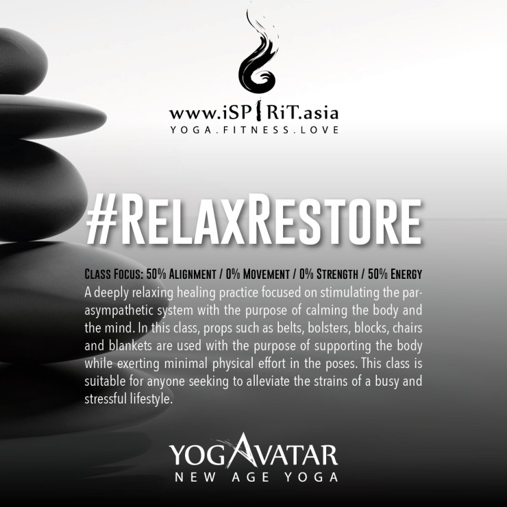 #Relax&Restore