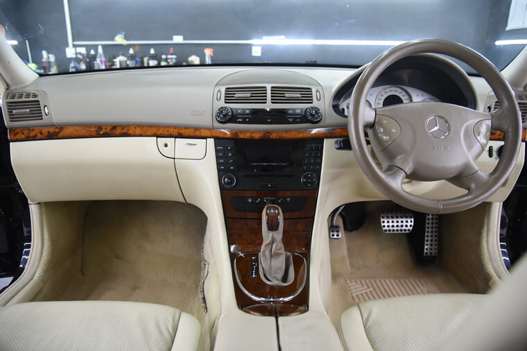 Car Interior Detailed