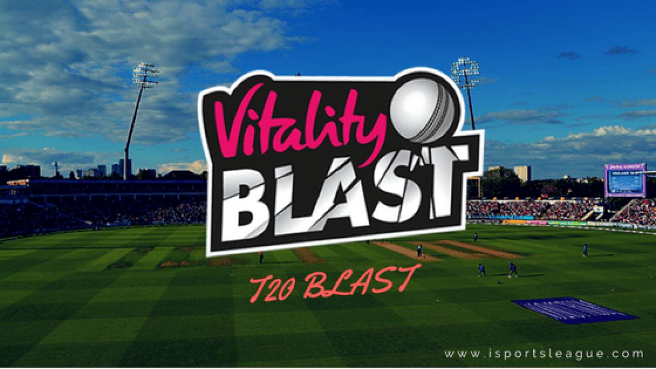 Vitality T20 Blast 2019 Points Table, Team Standings, NRR