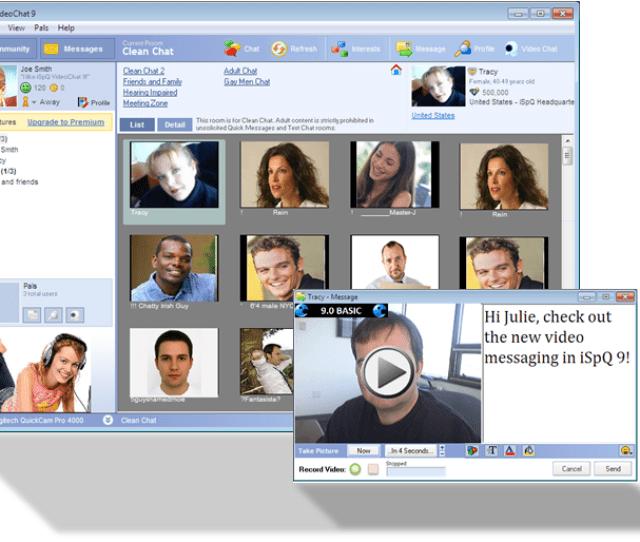 Ispq Video Chat Screenshot