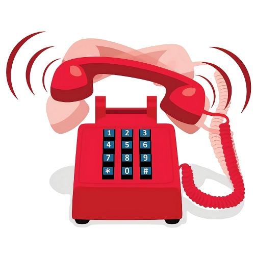 telephone uk red ringing broadband