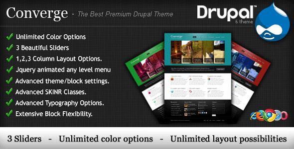 20 Premium Drupal Templates
