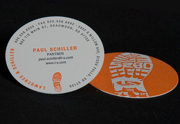 30+ Creative Round Business Cards