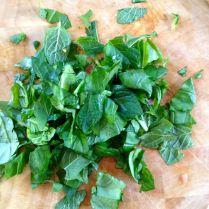 Step 8: Chop herbs