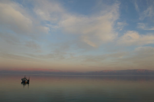 Sunset at the Dead Sea. Photo by Yaakov Naumi/Flash90.
