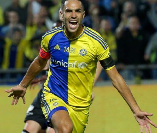 Photo Of Eran Zahavi Courtesy Of Maccabi Tel Aviv Official Website