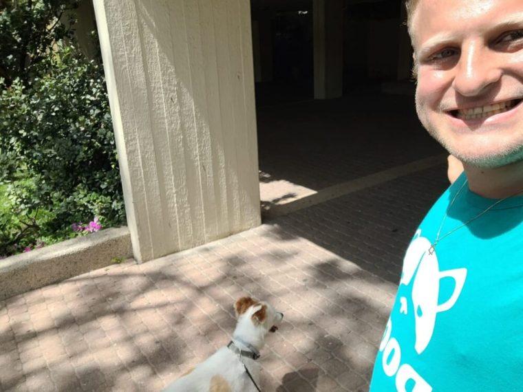 Ori and dog