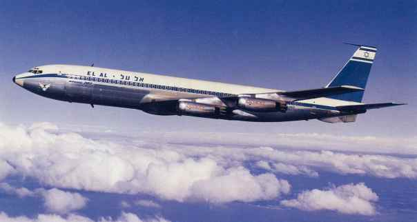 promo code 8bd0c 85b1a EL AL s first pure jet aircraft, Boeing 707-400 Intercontinental with  Rolls-Royce