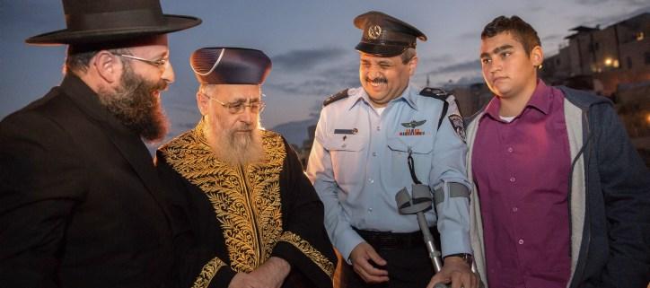 Israel News Hanukkah Menorah Kotel