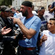 arab protests temple mount
