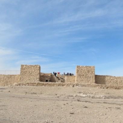 Entrance to Iron Age Tel Arad Fortress