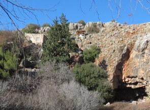 Makam el Khader above Pan's Cave