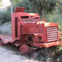 Original armored vehicles of Yehiam Convoy