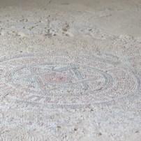 Star of David Mosaic floor